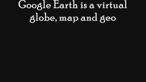 Thumbnail for entry JM (Google Earth Movie)