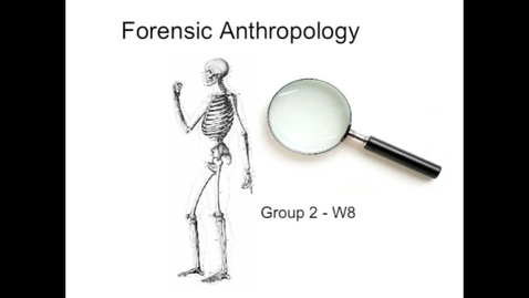 Thumbnail for entry Ladue Horton Watkins High School W8 Adv. A&P Forensic Anthropology by CMS Productions