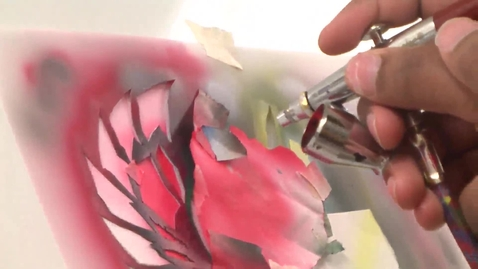 Thumbnail for entry Airbrush Class Interview