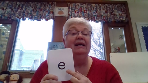 Thumbnail for entry Kindergarten - Phonics - March 18, 2020  (Day 2)