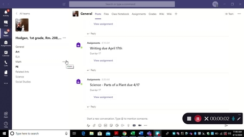 Thumbnail for entry Joining a Microsoft Teams Video Meeting