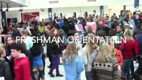 Thumbnail for entry Freshman Orientation