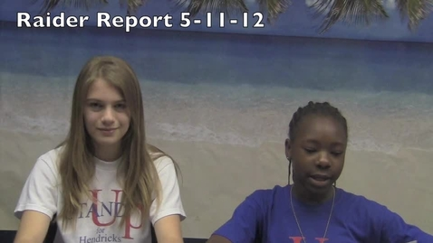 Thumbnail for entry Raider Report 5-11-12