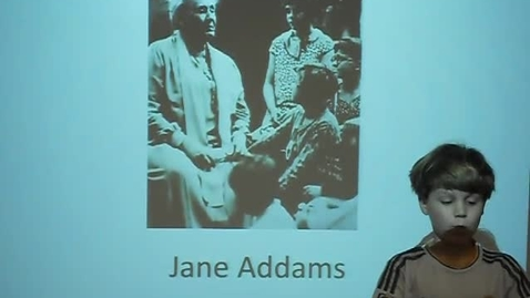 Thumbnail for entry Jane Addams