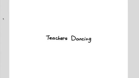 Thumbnail for entry Cape TV - Teachers Dancing