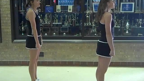Thumbnail for entry EHS Tryout Cheer Back View