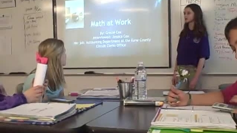 Thumbnail for entry Gracie C math career