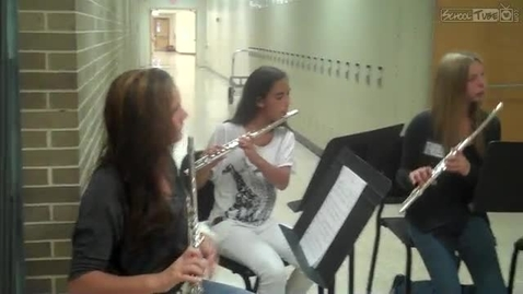Thumbnail for entry Ventnor Middle School Flute Ensemble 9.21.11