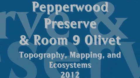 Thumbnail for entry Pepperwood Preserve Field Trip / Pilot Program