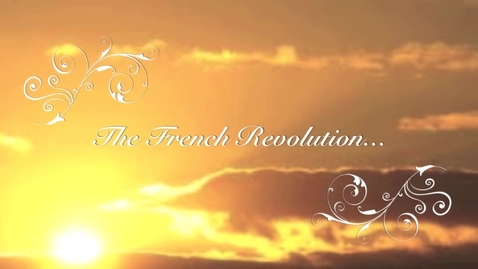 Thumbnail for entry French revolution and Napoleon