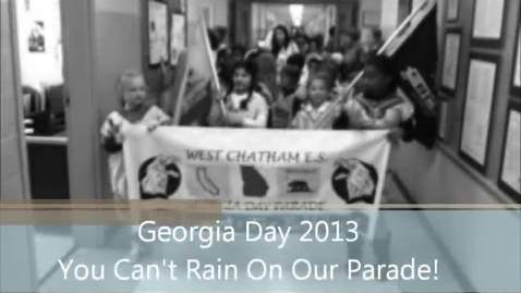 Thumbnail for entry Georgia Day 2013: You Can't Rain On Our Parade