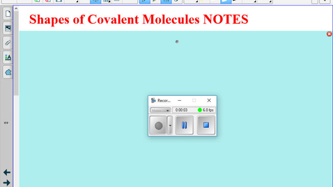 Thumbnail for entry Honors - Shapes of Covalent Molecules