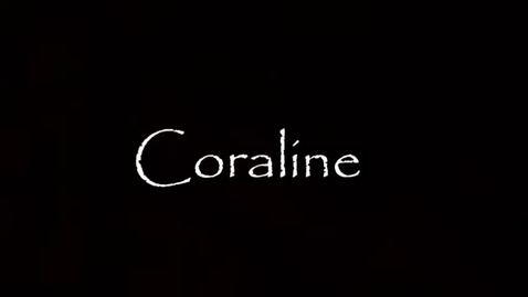 Thumbnail for entry Coraline by Neil Gaiman Book Trailer
