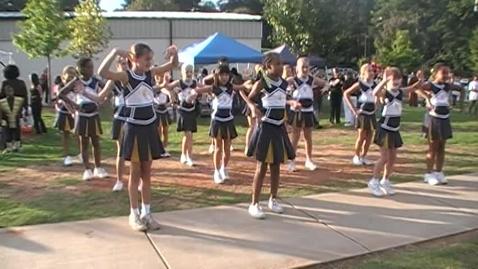 Thumbnail for entry sedalia park cheerleaders fall festival 10/09