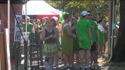 Thumbnail for entry Green Dress Run