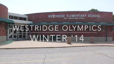 Thumbnail for entry Westridge Olympics 2014