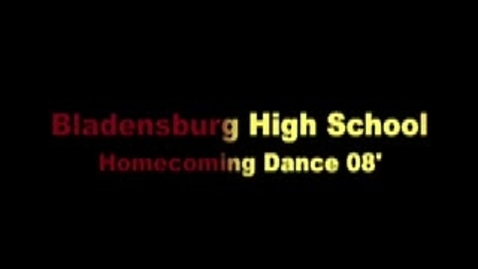 Thumbnail for entry BHS Homecoming DANCE