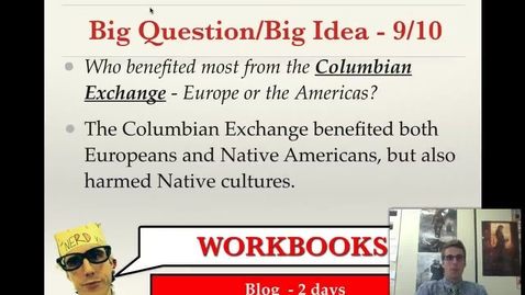 Thumbnail for entry Columbian Exchange
