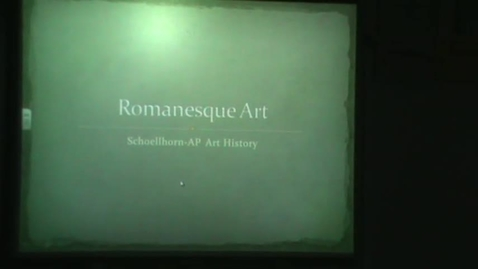 Thumbnail for entry Romanesque Review Part I