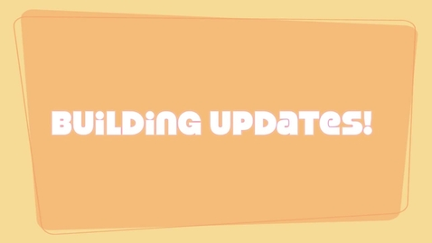 Thumbnail for entry Building Updates Fall 2011