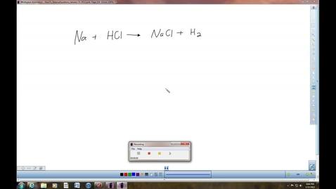 Thumbnail for entry Balancing Equations p2