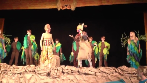 """Thumbnail for entry """"He Lives in You"""" Part 2 Rehearsal from Disney's """"The Lion King, Jr."""""""
