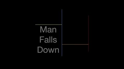 Thumbnail for entry Man Falls Down