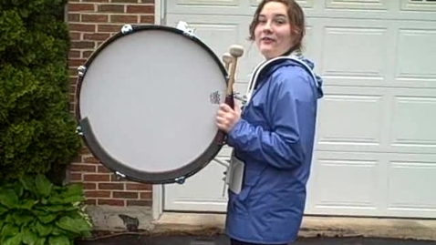 Thumbnail for entry All-American Army Marching Band Marching Audition- Lindsay Stevens