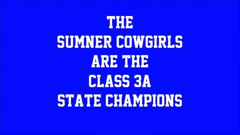 Thumbnail for entry Cowgirls Championship Game