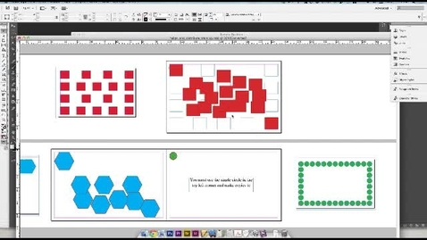 Thumbnail for entry Indesign Align and Distribute