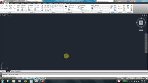 Thumbnail for entry AutoCAD LESSON 3D