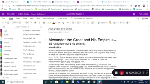 Thumbnail for entry Grade 7 - Social Studies - Alexander the Great