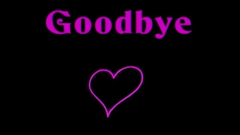 Thumbnail for entry Goodbye Love