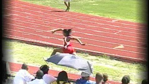 Thumbnail for entry Marqueshia Wins Triple Jump