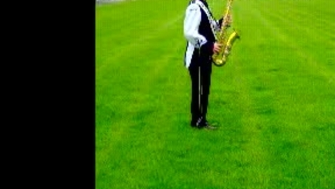 Thumbnail for entry Andrew Sansone U.S. Army All-American Band Audition Side View
