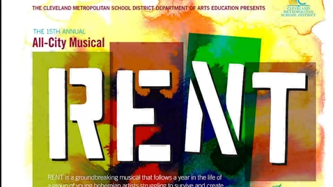 Thumbnail for entry All City Arts - RENT