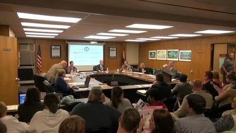 Thumbnail for entry Board Meeting November 21 Part 1
