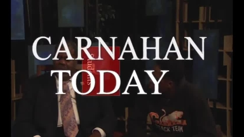 Thumbnail for entry Carnahan Today Talks with Jonathan Griffin