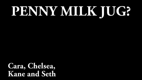 Thumbnail for entry Penny Milk Jug? (WSCN 2014)
