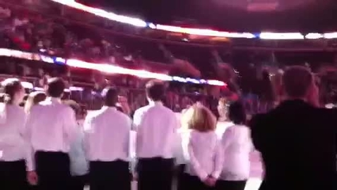 Thumbnail for entry National Anthem - Lake Erie Monsters Game (P1)