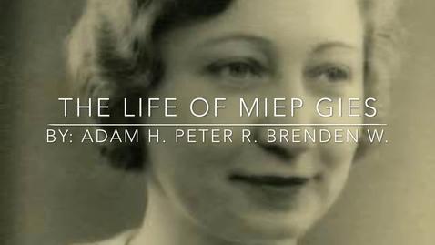 Thumbnail for entry Miep Gies 3B