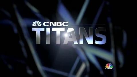 Thumbnail for entry CNBC Titans Steve Jobs Part 1