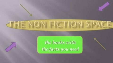 Thumbnail for entry The Non-Fiction Section