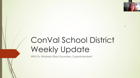 Thumbnail for entry ConVal Remote Learning Update May 15, 2020