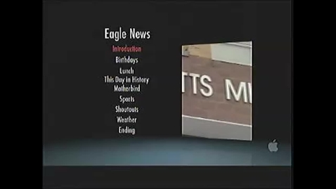 Thumbnail for entry Eagle News for November 2nd, 2012