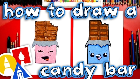 Thumbnail for entry How To Draw A Chocolate Candy Bar