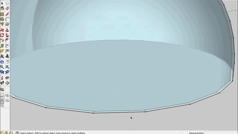 Thumbnail for entry How to connect domes with tunnels in SketchUp