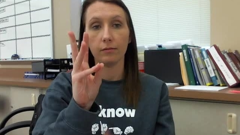 Thumbnail for entry ASL 3 Signing Naturally Unit 24 Vocabulary
