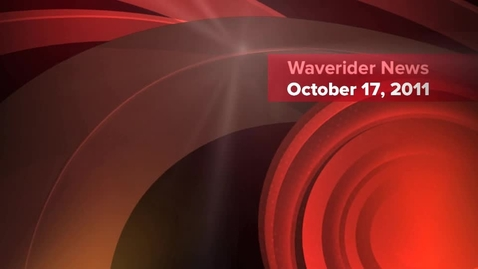 Thumbnail for entry Waverider News 10-17-11