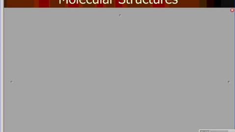 Thumbnail for entry molecular structures podcast